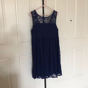 Dark Blue Torrid Dress